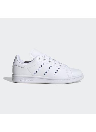 adidas Unisex Çocuk Stan Smith  Spor Ayakkabı EG6496 Beyaz